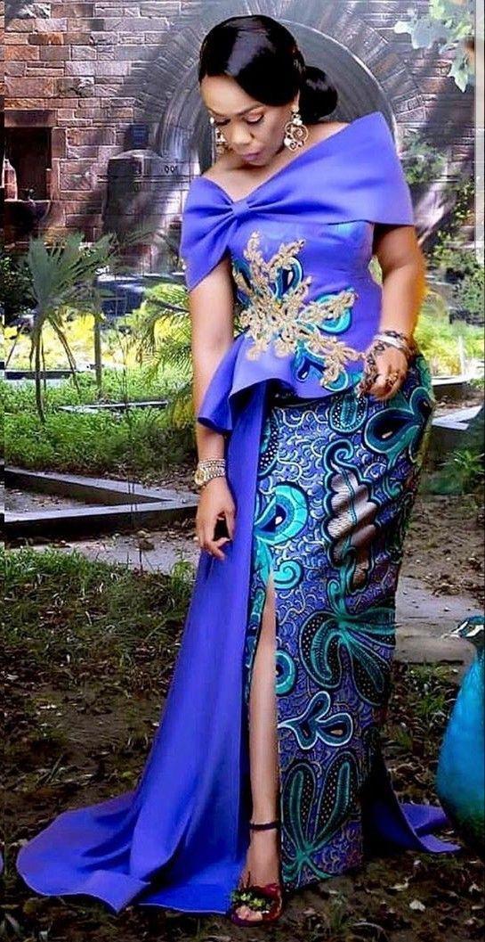 African wax prints, African Dress