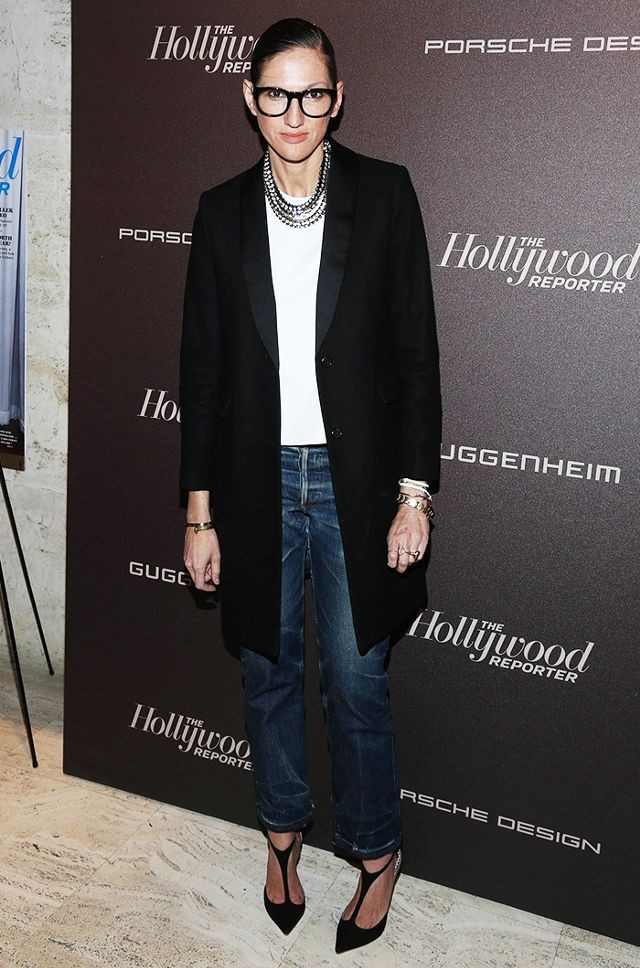 Club outfit ideas for hollywood reporter, Jenna Lyons