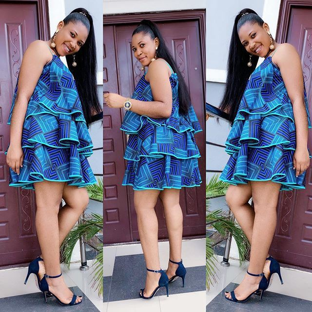 You guys must see these fashion model, African wax prints