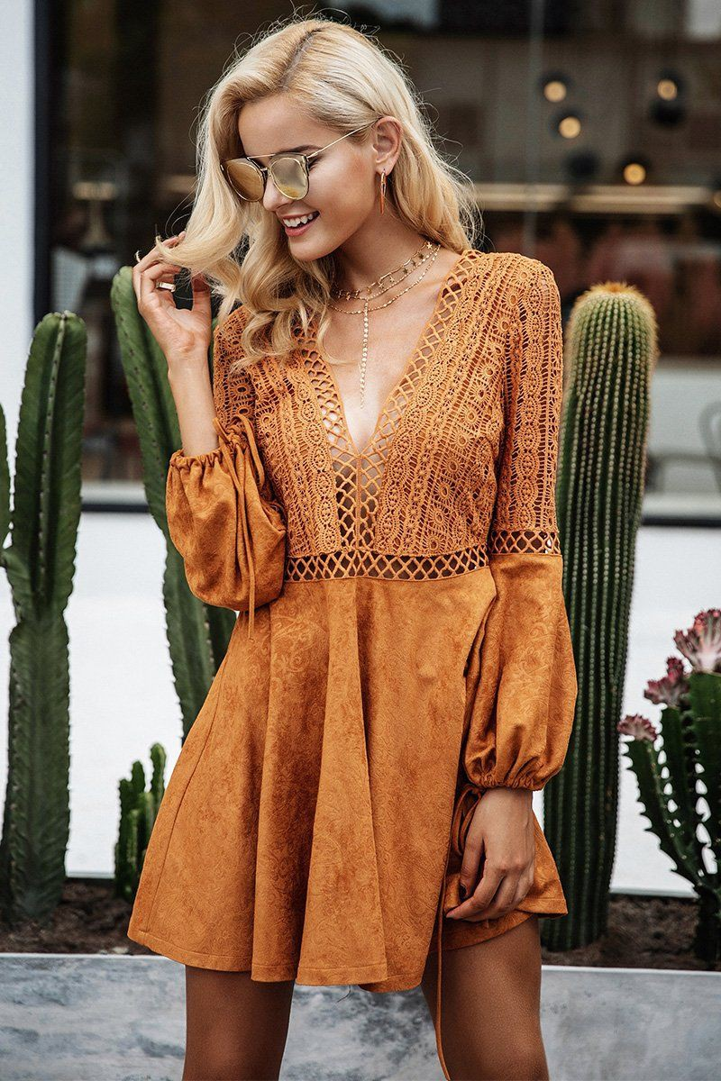These are gorgeous robe daim, Bell sleeve