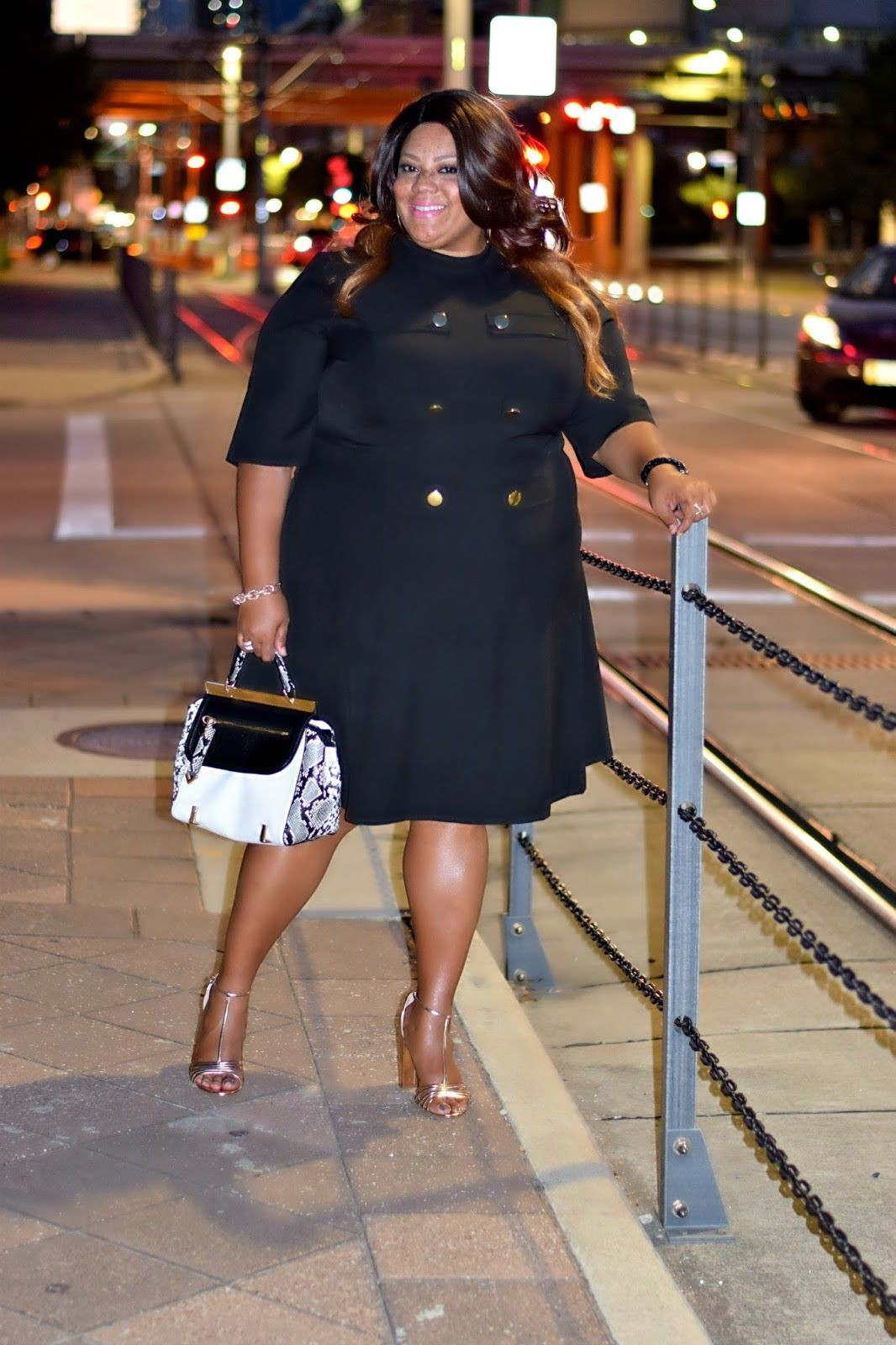 Casual tips for little black dress, Plus-size clothing