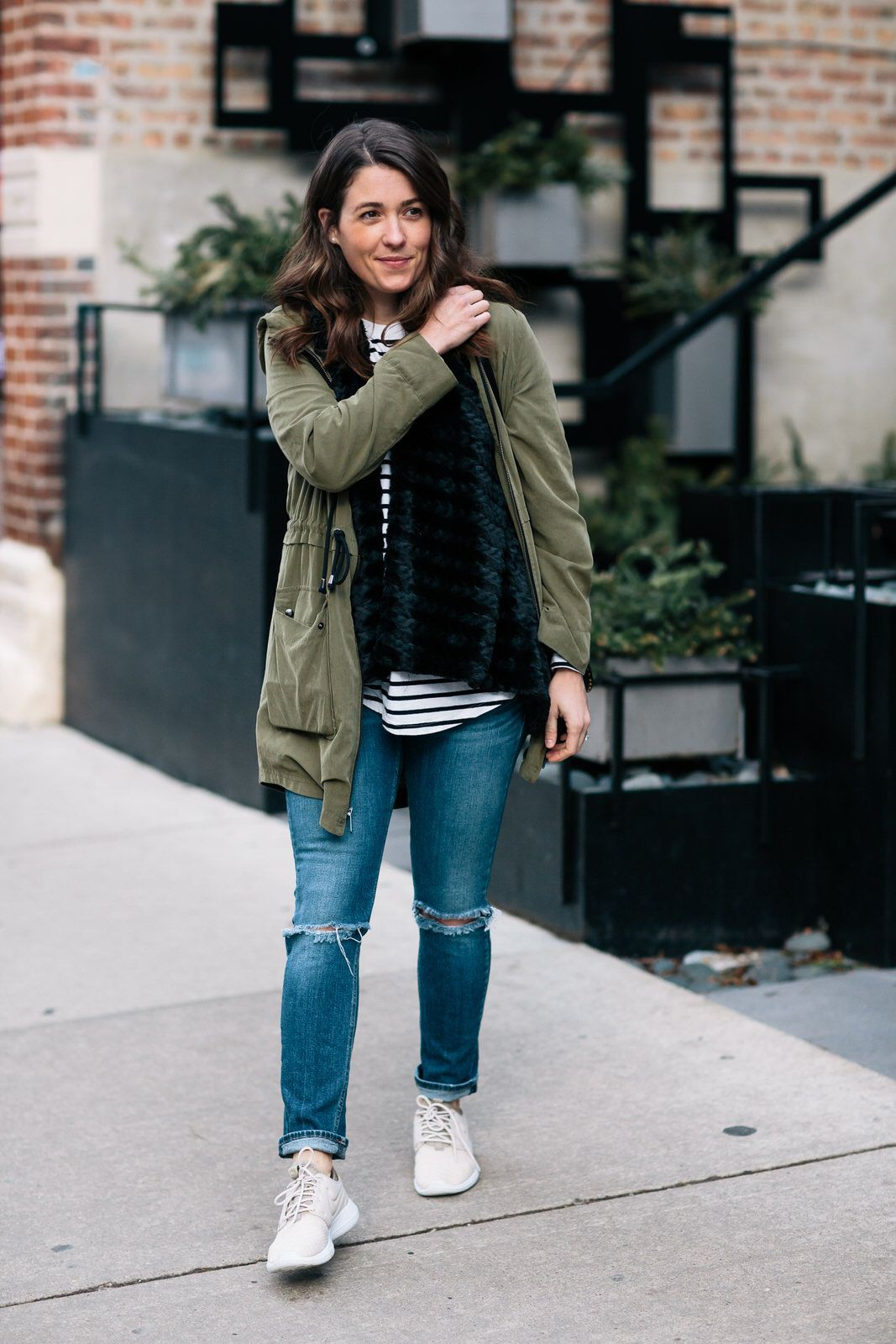Winter Sneakers outfit For Girls