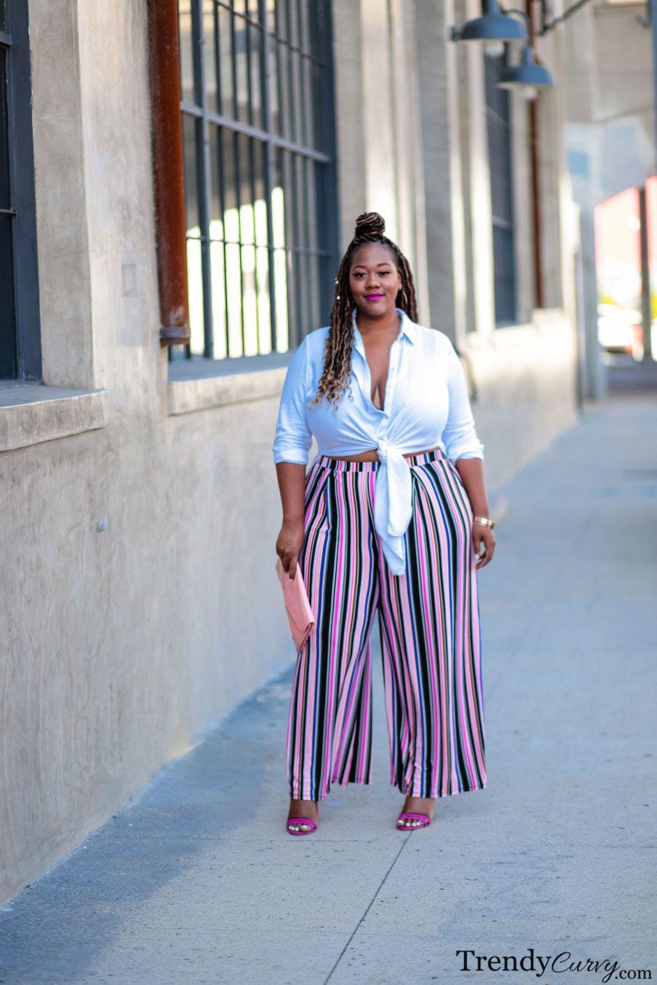 Plus Size Pants For Curvy Women, Plus-size clothing, Sleeveless shirt