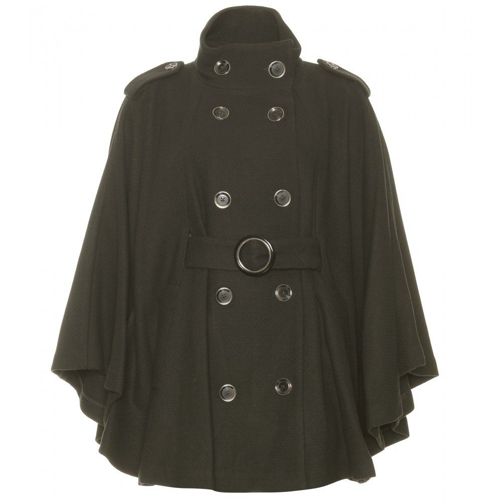 Stylish Hooded Coats For Ladies, Wool Poncho, Trench coat