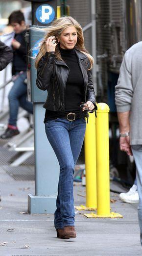 Jennifer aniston leather jacket, Jennifer Aniston
