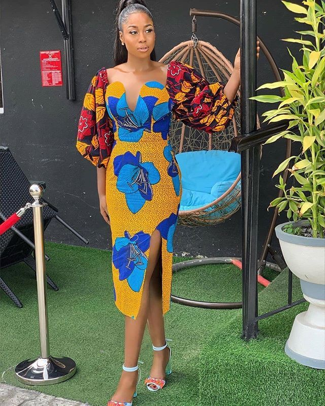 Ankara long gown styles, Formal wear