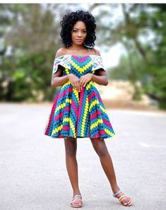 African short dress styles, African Dress