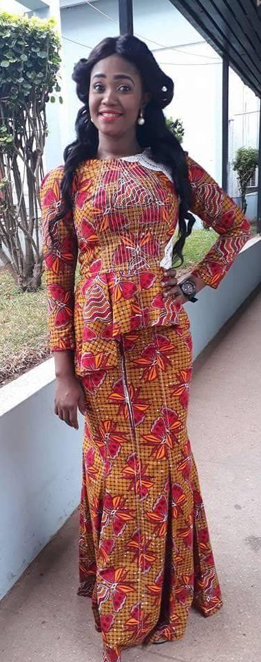 Ghana Kaba Styles, African wax prints, African Dress