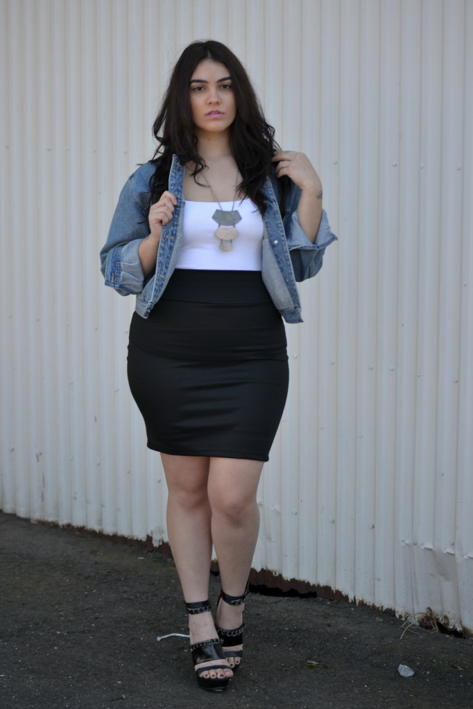 Plus size outfit ideas, Nadia Aboulhosn