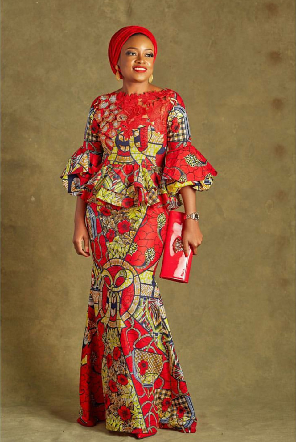 Great pictures of wax dress styles, African wax prints