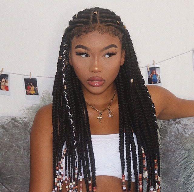 Cute Hairstyles Black Woman Braids Fulani Braids Hairstyles Black Hair Bob Cut Box Braids
