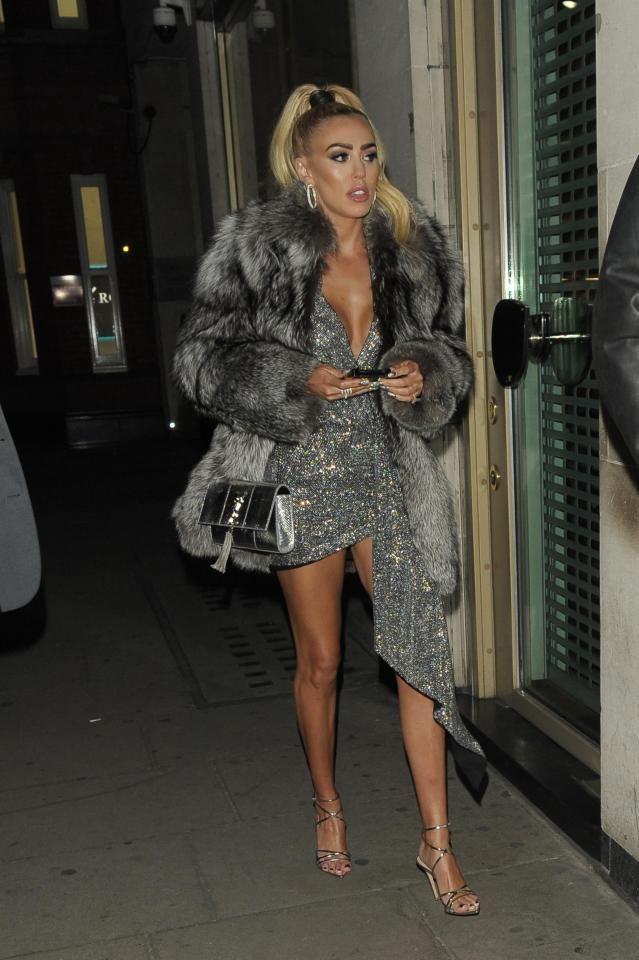 Tamara ecclestone fur coat, Tamara Ecclestone