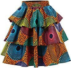 Stylish and super trendy african print skirts, African wax prints