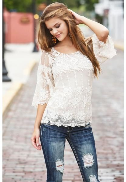 Night out ideas for top designs lace, Crocheted lace