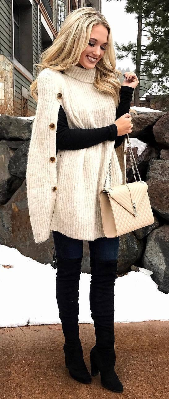 Famcy clothes for women in the winter
