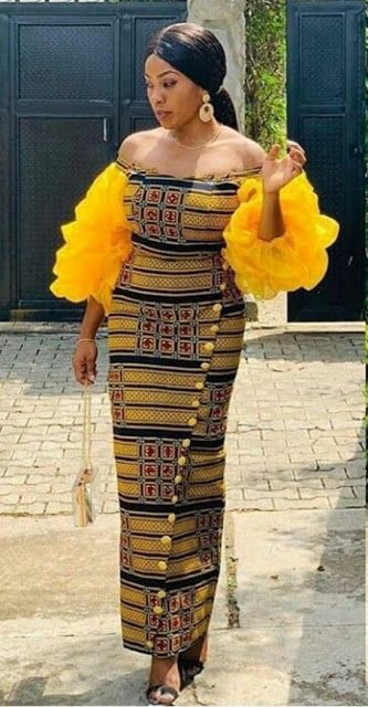 Share your ideas on woman ankara styles, African wax prints