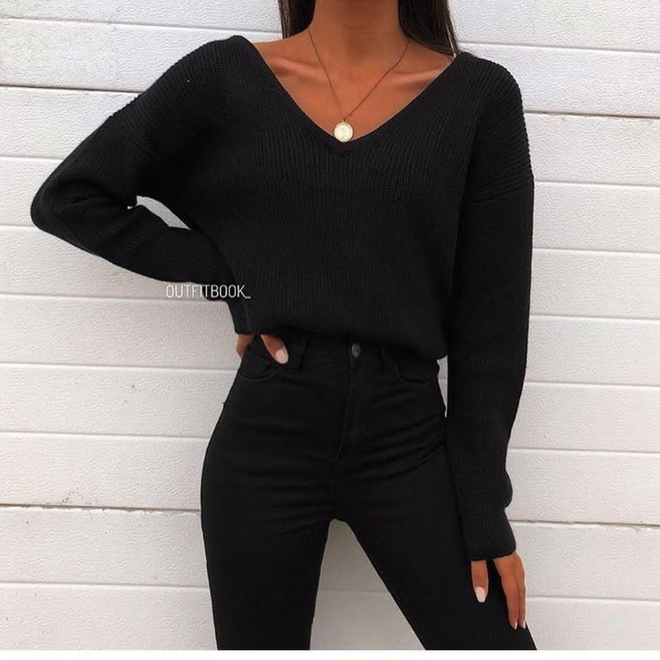 Cute all black outfits, Casual wear