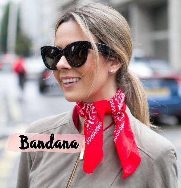 Simple Bandana Outfit women