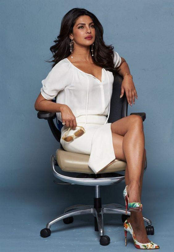 Priyanka chopra in chair