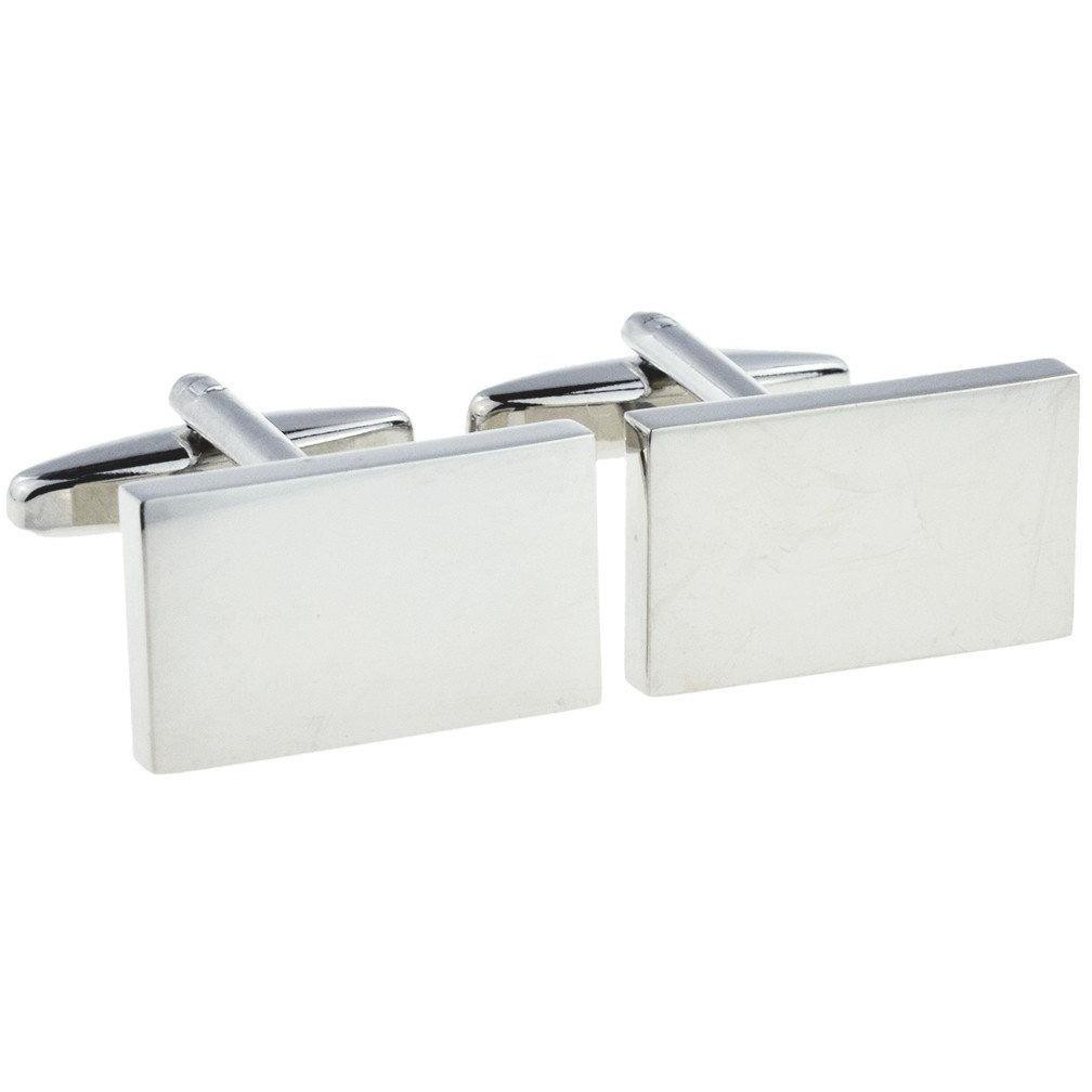 ENGRAVED DELUXE RECTANGLE CUFFLINKS £19.99