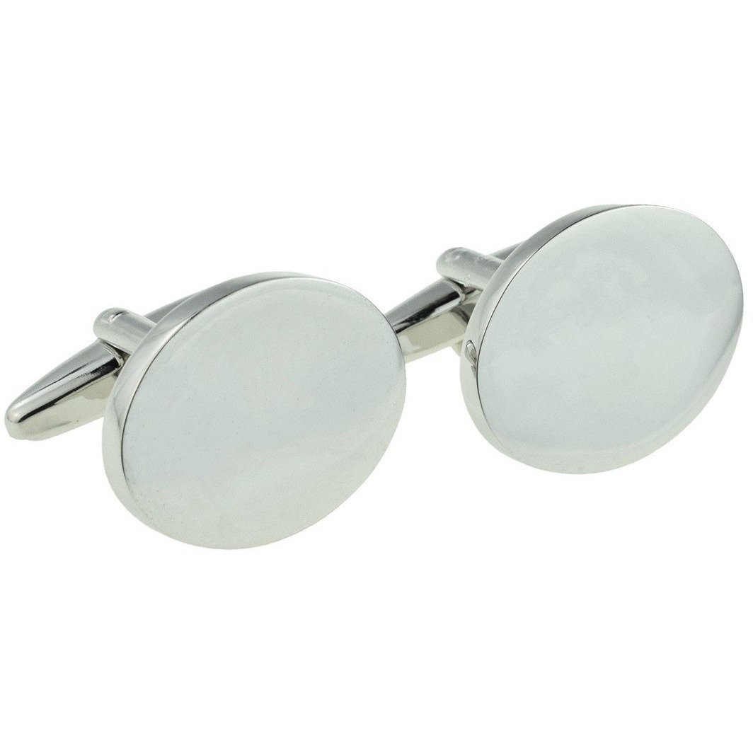 ENGRAVED DELUXE OVAL CUFFLINKS £19.99
