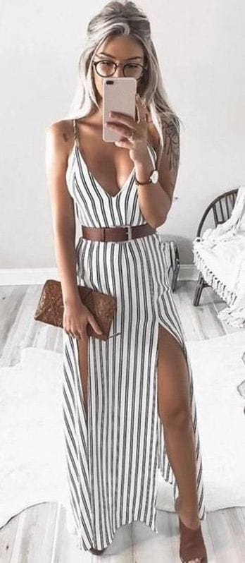 Cute Dress For Romantic Lunch Date