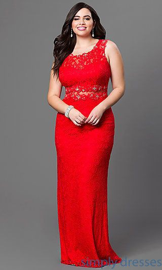Beautiful Formal Cocktail Dresses For Plus Size Girls