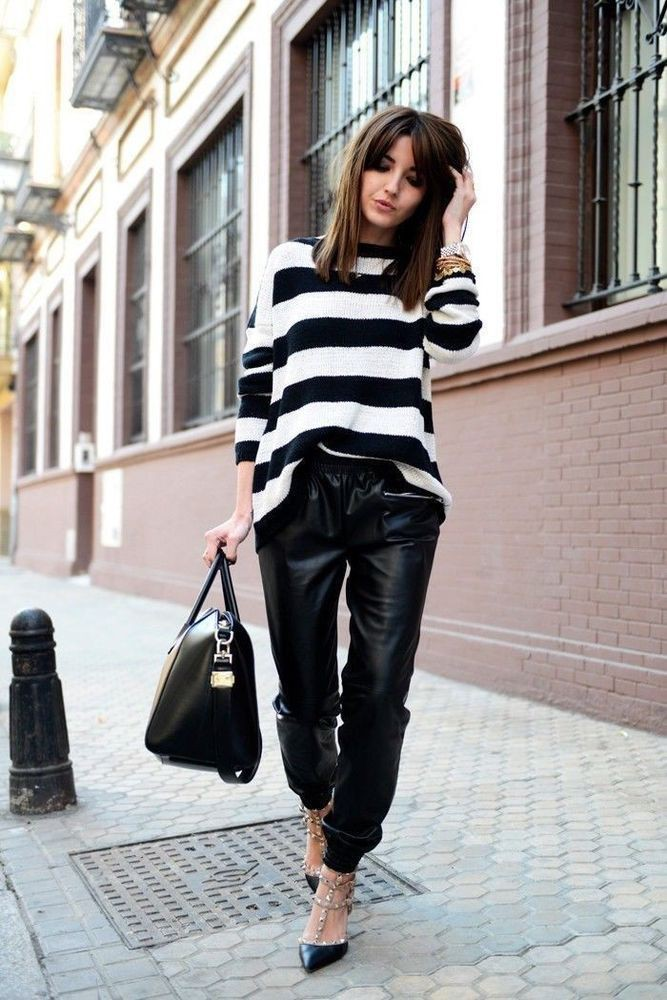 Winter Casual Jogger Pants Outfit