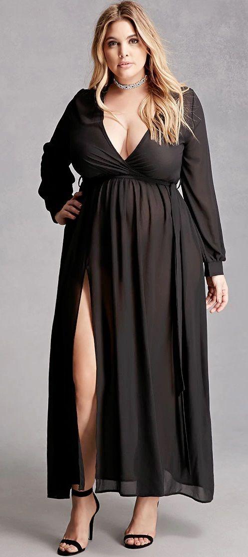 Plus Size Maxi Dress Lovely Cocktail Dress For Plus Size Women