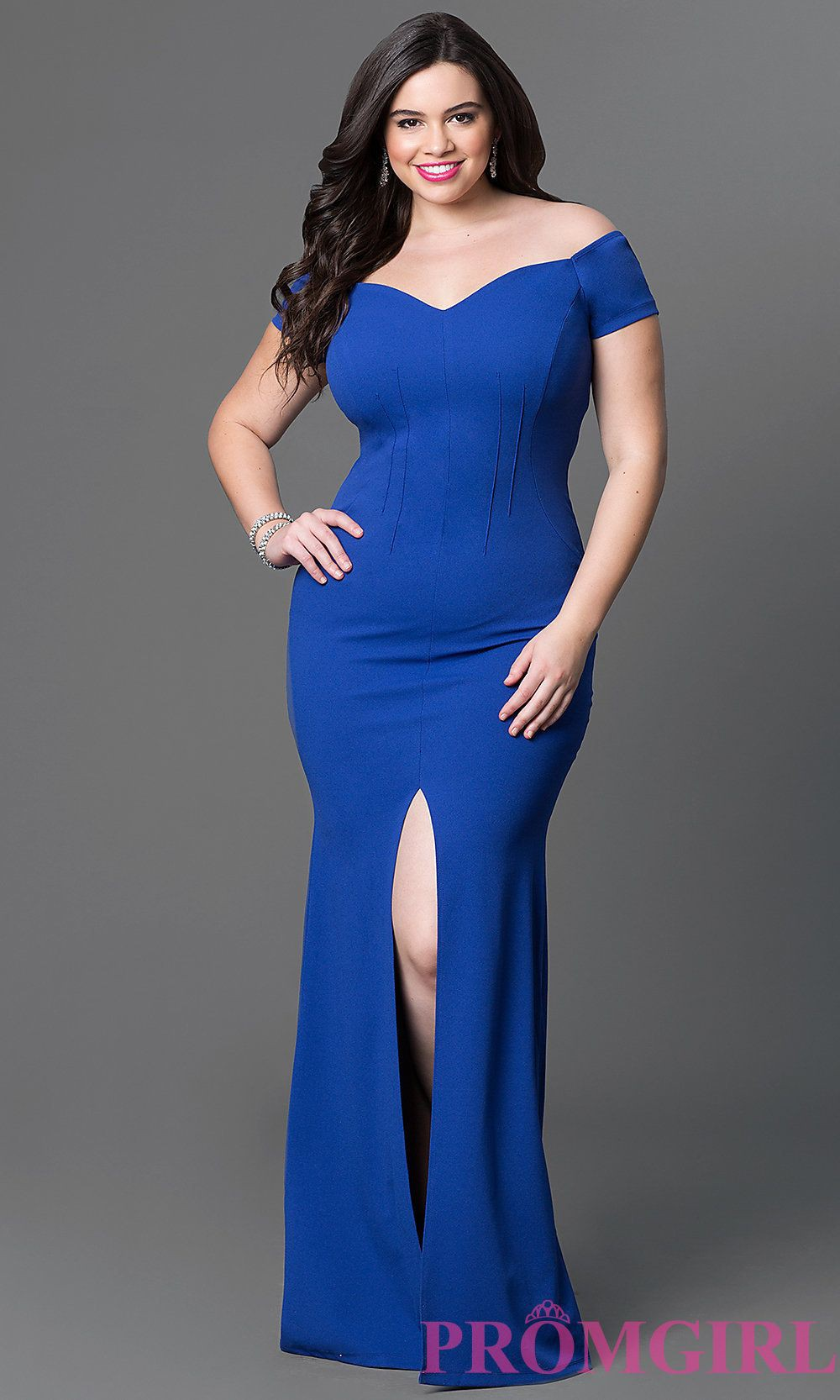 Formal Gowns Prom Girl Lovely Cocktail Outfit For Plus Size Women