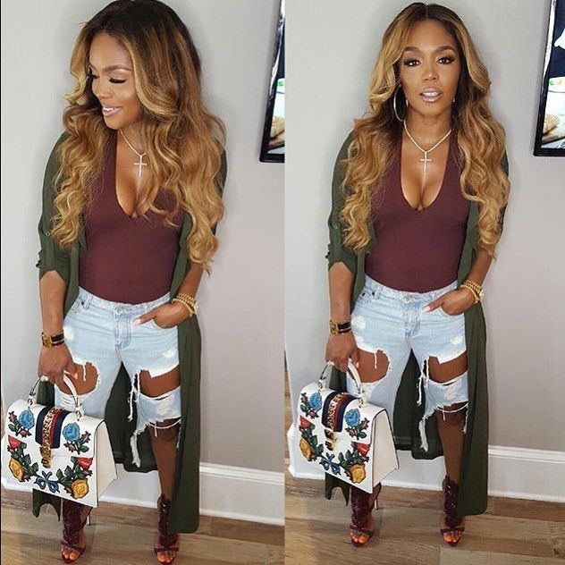 Powerful ideas to try for rasheeda outfits, Boss Chick