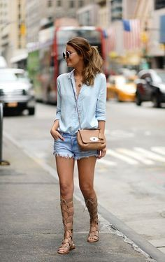 Bohemian Gladiator Sandals Outfit