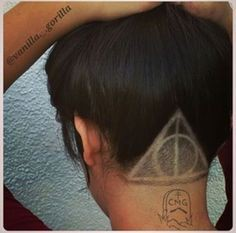 Harry potter undercut designs
