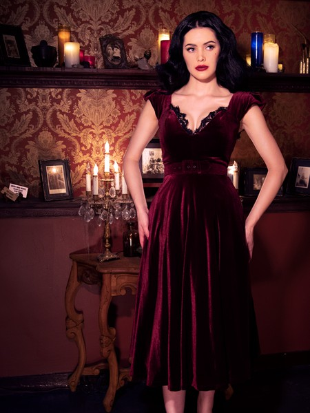 Just for fun ideas oxblood gown, Little black dress