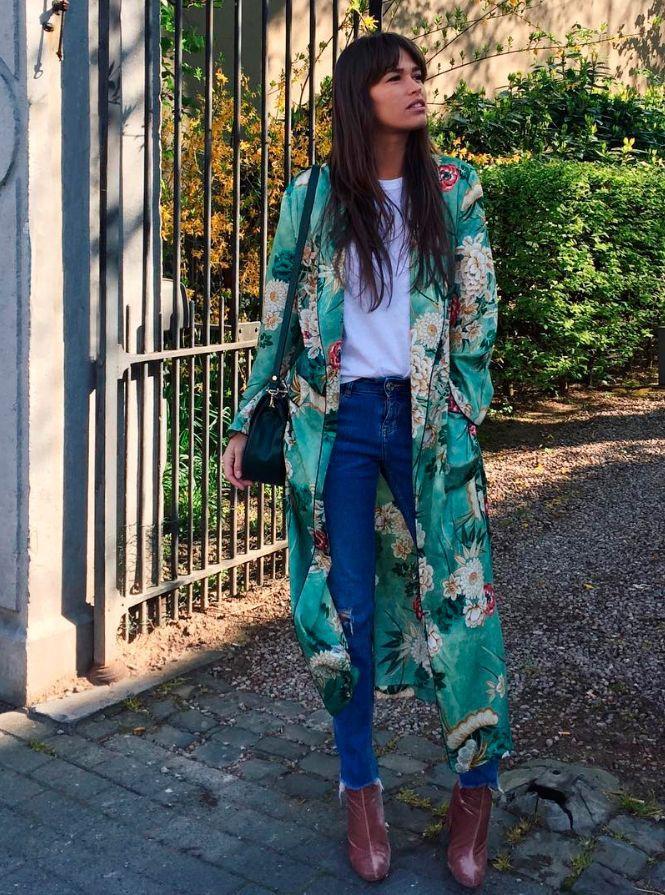 Stylish Outfits With Kimono