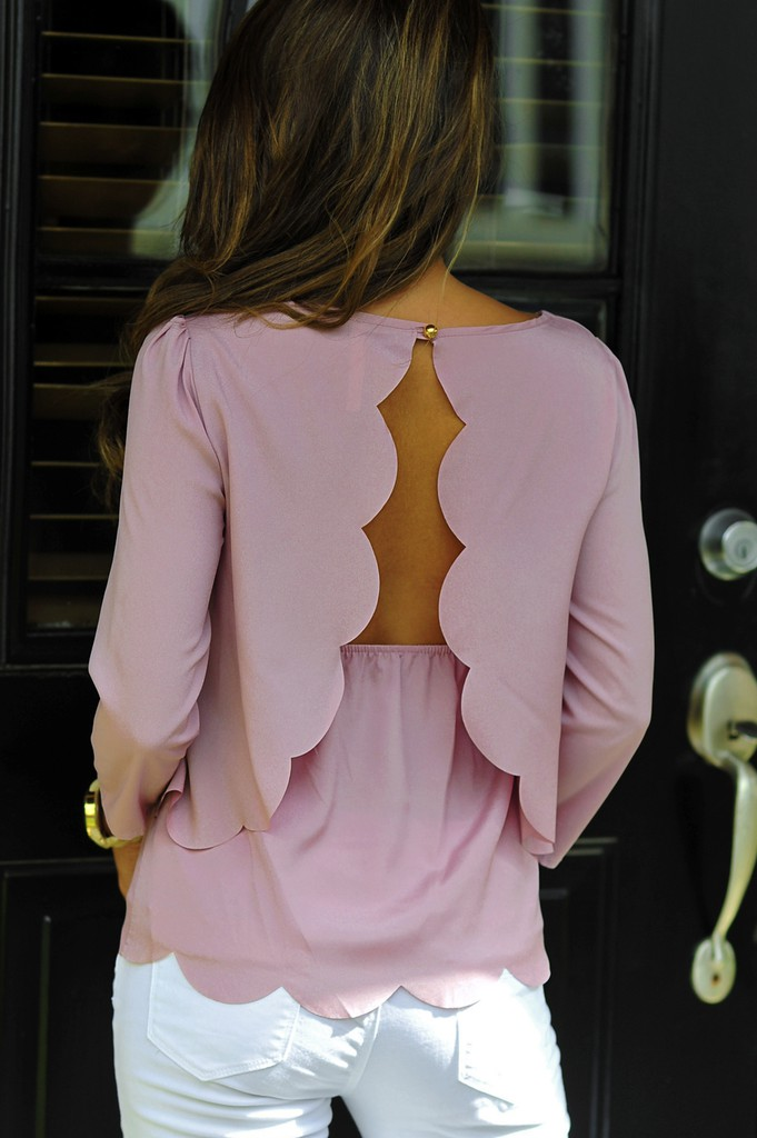 Girly and cute ideas for open back blouses, Backless dress