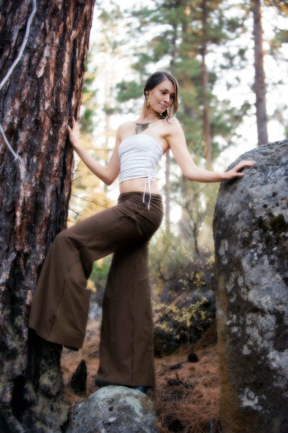 Latest High Waist Palazzo Outfit For Girls il_fullxfull.5388181…