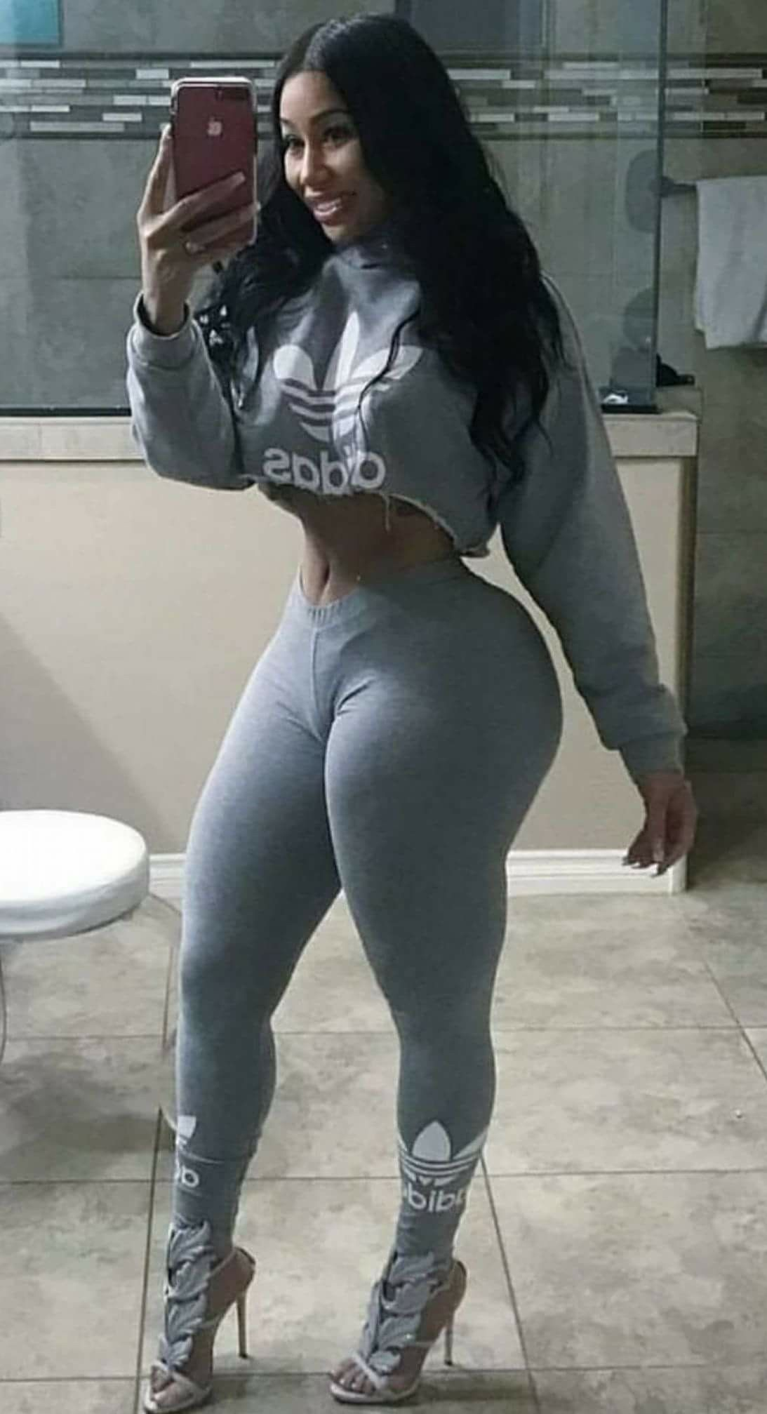 women Hot black thick