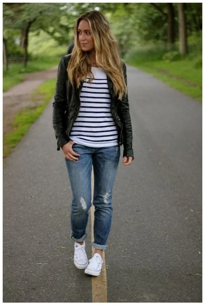 Fashionable Spring Outfit Ideas For 2020, Chuck Taylor All-Stars, Casual wear