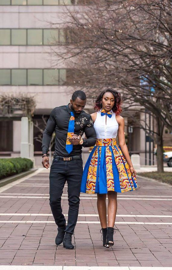 Ankara Styles Matching African Outfits For Couples