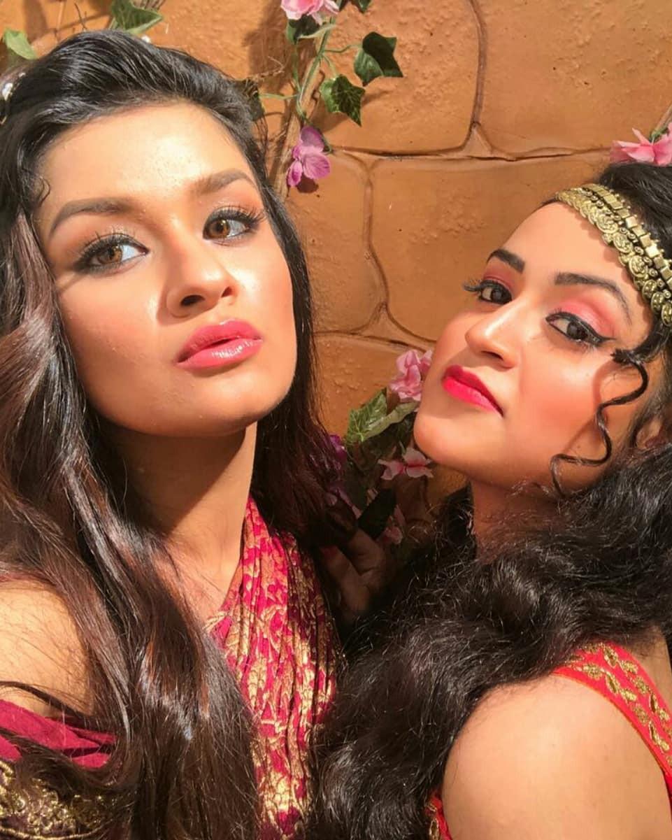 Farhina parvez and avneet kaur