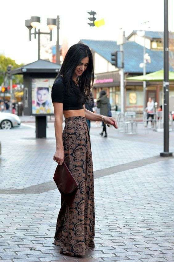 Cute Flare Palazzo Pants For Night Out Come vestirsi a giug…