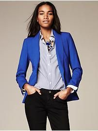 Ideal for you outfit blazer azulino, Navy blue