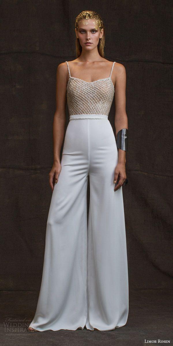 "Wonderful Flare Palazzo Pants For Ladies Limor Rosen 2016 Wedding Dresses — ""Treasure"" Bridal Co ..."