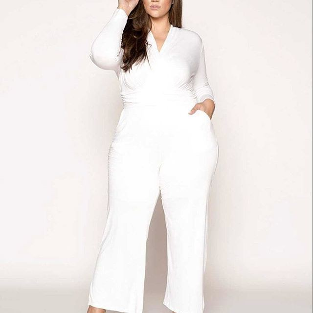 Wonderful Casual Jumpsuit Clothing For Fat Tummy Girl