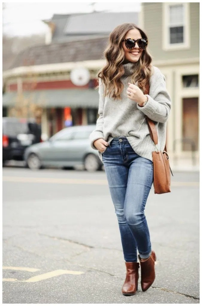 Fashionable Spring Outfit Ideas For 2020, Polo neck, Casual wear