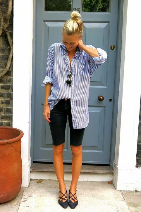 Fit for all bermuda shorts outfits