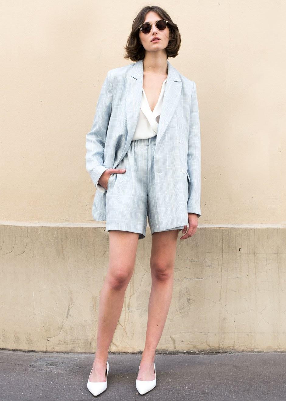 Linen short suit womens, Frankie Shop