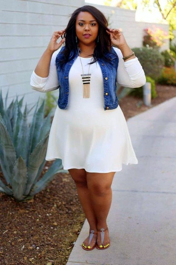 Plus size womens summer clothes