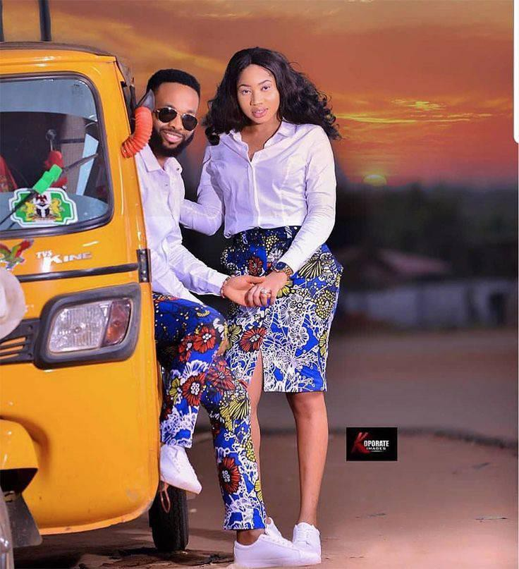Modern Matching African Outfits For Couples